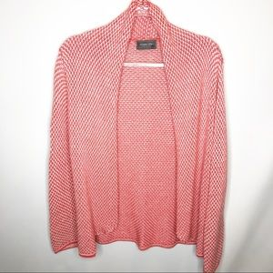 Wooden Ships Coral Cotton loose weave Cardigan M/L